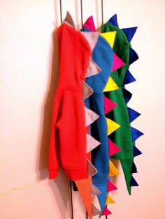 Dinosaur Halloween Costume, Hooded Jacket, Custom Made, Dinosaur Tail, Shipped by 10/15. $34.00, via Etsy.