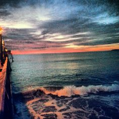 Sunset in Imperial Beach ♥