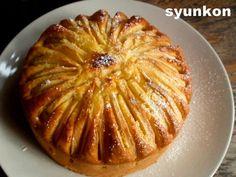 冷ます Sweets Recipes, Apple Recipes, Asian Recipes, Cake Recipes, Cooking Recipes, Cafe Food, Food Menu, Japanese Cake, Keto
