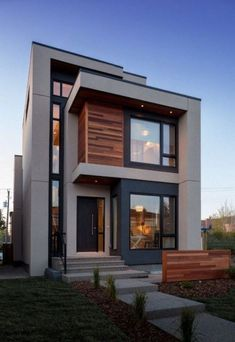 """✔ 39 new modern exterior design ideas for your house 13 > Fieltro.Net""""> 39 New Modern Exterior Design Ideas For Your House - House Entrance, Entrance Ideas, Entrance Design, Entryway Ideas, Door Design, Modern Entrance, Rustic Entryway, Entryway Stairs, Rustic Stairs"""