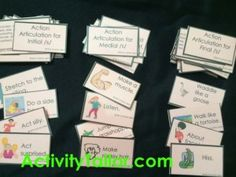 Action Articulation cards:  learn how you can boost carry-over while engaging your students