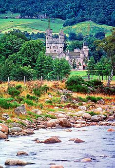 Balmoral Castle in Royal Deeside, Aberdeenshire, Scotland.