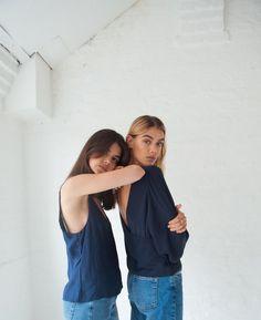 Joanna & Sarah Halpin, shot by Cleo Glover