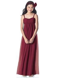 Dessy Collection Junior Bridesmaid style JR835 http://www.dessy.com/dresses/junior-bridesmaid/jr835/?color=burgundy&colorid=8#.UzOZTYxOnFo