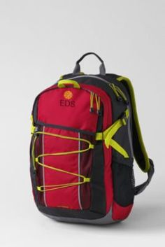 Backpack for the boy who beats them up... lots of awesome features on this!