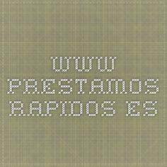 www.prestamos-rapidos.es