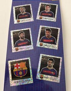 Messi Neymar Iniesta Pique Suarez FC Barcelona Logo Soccer Hologram Sticker NWT #FCBarcelonaOfficialMerchandise #FCBarcelona