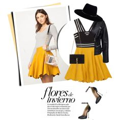 A fashion look from November 2015 featuring Sisters Point jackets, Yves Saint Laurent handbags and Zimmermann hats. Browse and shop related looks.