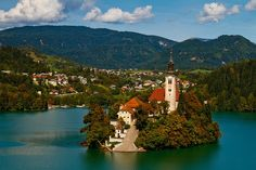 points of interest Slovenia - see where to go! Bled