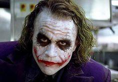The Joker (Heath Ledger) // The Dark Knight, 2008 Heath Joker, Joker Batman, The Joker, Joker Face, Joker And Harley Quinn, Heath Ledger Joker Makeup, Joker Ledger, Joker Villain, Supergirl Superman