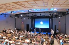 Apple HQ, Town Hall.