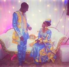 West african wedding outfits