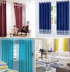 Decoração entre as cortinas