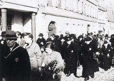 24 March Jews in Kitzingen being led to the train station. Jews from Würzburg were among those deported. Kitzingen Germany, Germany Ww2, Jewish Men, Fact Of The Day, History Facts, World War Two, Social Justice, First World, Wwii