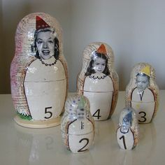 Allyson D | Nesting dolls submitted for nesting doll exchang… | Flickr