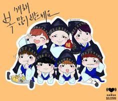 BTS - 2015 lunar new year