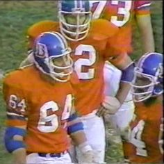 Offensive linemen BILLY BRYAN (center, 64), TOM GLASSIC (guard, 62) and KEITH BISHOP (guard, 54)--December 14, 1980.