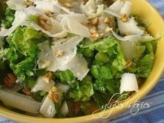 Greek Recipes, Wine Recipes, Salad Recipes, Cooking Recipes, Greek Cooking, Cooking Time, Yummy Food, Tasty, Yummy Yummy