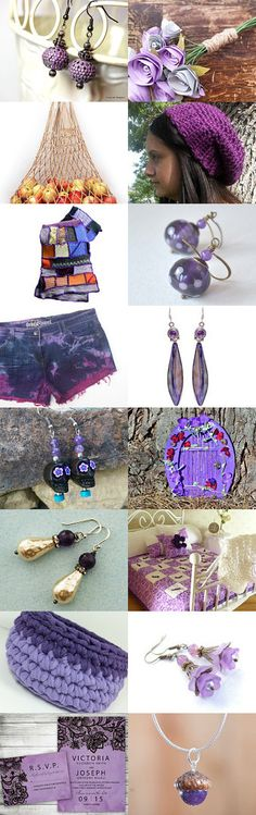 A Passion for Purple by Karina Scott on Etsy--Pinned with TreasuryPin.com