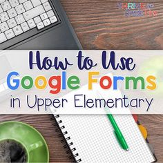 Use Google Forms with upper elementary students for surveys, feedback for peers, and so much more! Classroom Jobs, Google Classroom, Writing Folders, Nonfiction Text Features, 5th Grade Social Studies, Middle School English, Word Families, Upper Elementary, Educational Technology