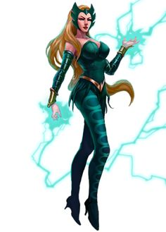 "Enchantress in ""Marvel: Avengers Alliance"" (Playdom Marvel Comics, Marvel Heroines, Comics Anime, Marvel E Dc, Marvel Villains, Marvel Women, Marvel Girls, Marvel Avengers, Marvel Universe"