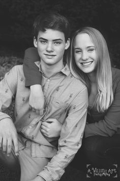 Sibling Photography, Teen Photography, A. Willing Art Photography, Virginia Beach Photographer Older Sibling Photography, Older Sibling Poses, Brother Sister Photography, Sibling Photo Shoots, Teenager Photography, Sibling Photos, Art Photography, Toddler Photography, Brother Sister Poses