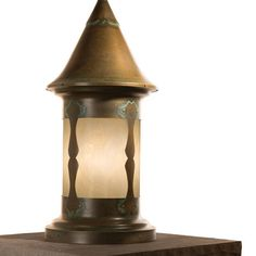 "America's Finest Lighting Company Castle Hill 1 Light Pier Mount Light Size: 22"" H x 9.5"" W x 9.5"" D, Shade Finish: Wispy White, Finish: Textured B..."