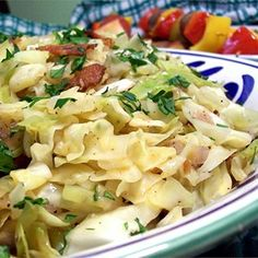 """Fried Cabbage with Bacon, Onion, and Garlic I """"I thought I would want more bacon, but I stuck to the recipe and it was perfect. I wouldn't change a thing."""""""