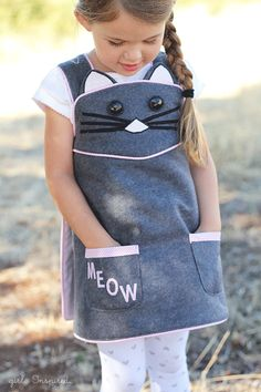 Kitty Cat Wrap Dress - Cottage Mama Pattern Review