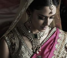 Modern Indian Bride -- yet flourishing with timeless culture and traditions!