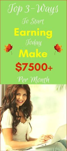 Ready to Make money online in 2017. Top 3-ways to earn passive income online from home. Start making $7500+ per month with genuine methods. Click to see how >>>