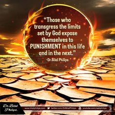 Those who transgress the limits set by God (Allah) expose themselves to Punishment in this life and in the next. #BilalPhilips #IslamicQuotes |  Those who transgress the limits set by God (Allah) expose themselves to Punishment in this life and in the next.  Dr. Bilal Philips  The post Those who transgress the limits set by God (Allah) expose themselves to Punishment in this life and in the next. #BilalPhilips #IslamicQuotes appeared first on Islamic Quotes | Quran Sunnah Quotes for WhatsApp…
