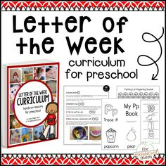 You'll be blown away by the letter of the week curriculum in this ebook! You'll find hundreds of the very best hands-on preschool activities. all in one place! Preschool Letters, Preschool Curriculum, Preschool Learning, In Kindergarten, Preschool Activities, Homeschooling, Preschool Lessons, Preschool Worksheets, Literacy Activities