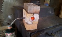 small fire brick furnace