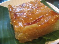 Cassava Cake Recipe (for US bought ingredients) | Pinoy Recipes | Free Filipino Food Recipes