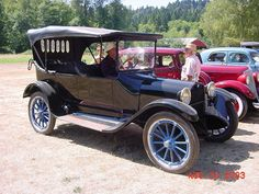 1918 Dodge Brothers Touring/worked on one of these,have 11 floating clutch discs. : )