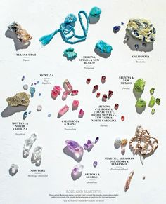 American Gems, Martha Stewart Living – March Issue #Gems
