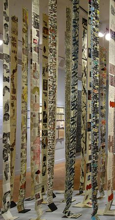 Book Installation Detail by Yeshiva University Museum Exhibitions, via Flickr