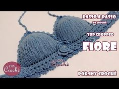 Top Cropped de crochê Fiore - Tamanho Único - JNY Crochê - YouTube