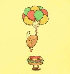 Flying bun