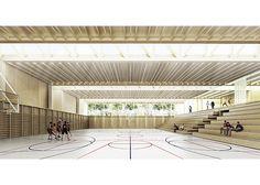 .. Sportshal in Rakican by Bevk Perović arhitekti > ruimte voor gedrevenheid : adem en lucht zorgen voor groter enthousiamse en dus grotere gedrevenheid.