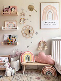 Baby Bedroom, Baby Room Decor, Girls Bedroom, Nursery Wall Art, Nursery Room, Nursery Decor, Wall Mural, Wall Art Prints, Ideas Dormitorios