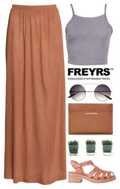 """""""FREYRS #1"""" by evangeline-lily ❤ liked on Polyvore featuring H&M, Retrò, Acne Studios and vintage"""