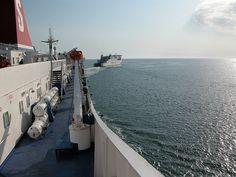En route to Fishguard-Stena Line Ferry-Irish Sea