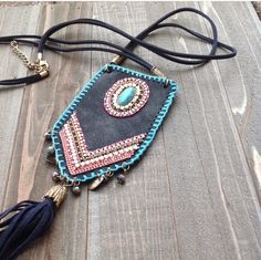 Boho necklaces go great with country concerts! Yee haw!