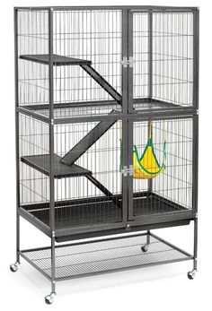 Ferret Cage Supplies Hammock Prevue Hendryx Pet Product Feisty Large Cages #PrevueHendryx