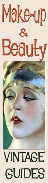 vintage 1920s -make-up-guides