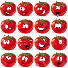 scared tomato cartoon - Google Search