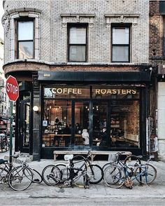 Café new-yorkais / New York coffee shop