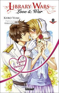 Library Wars - Love & War, tome 8 Kiiro Yumi Editions Glénat